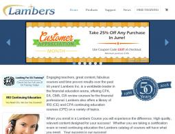Lambers Promo Codes