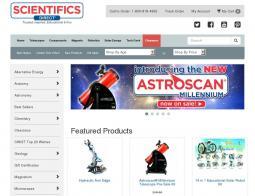 Scientifics Online Coupon