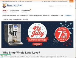 Whole Latte Love Coupon 2018