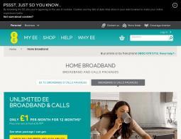 EE Broadband Voucher Code