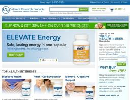 Vitamin Research Products Coupon 2018