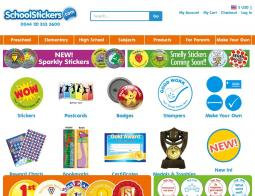School Stickers Voucher Code 2018