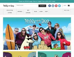 Teddy The Dog Coupon Codes 2018