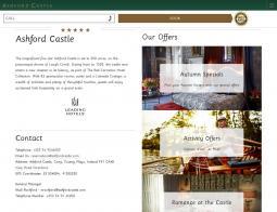 Ashford Castle Promo Codes