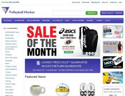 Volleyball Market Coupon