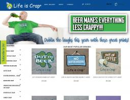 Life Is Crap Coupon