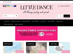 Little Dance Invitations Coupon