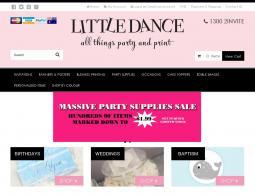 Little Dance Invitations