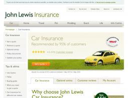 John Lewis Car Insurance Promo Code