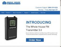 Whole House FM Transmitter