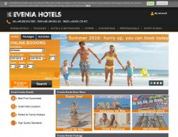 Evenia Hotels Discount Code 2018