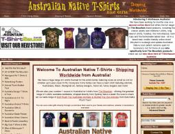 Australian Native T-Shirts And Gifts