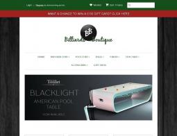 Billiards Boutique Discount Code
