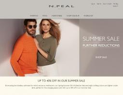 N.Peal Discount Code