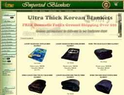 Imported Blankets