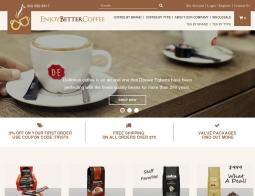 EnjoyBetterCoffee.com Coupon Codes