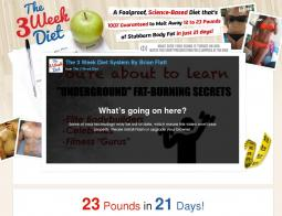 The 3 Week Diet Promo Codes 2018