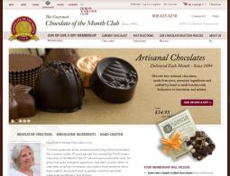 Gourmet Chocolate of the Month Club Promo Codes 2018