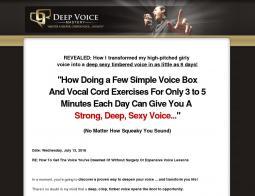 Deep Voice Mastery Promo Codes