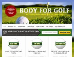 Body for Golf Coupons