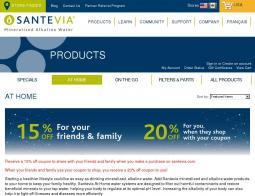 Santevia Coupon Codes