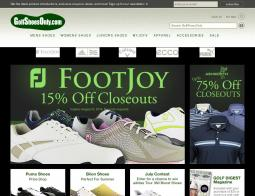 Golf Shoes Only Coupon