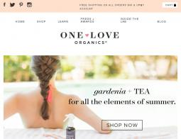 One Love Organics Coupon