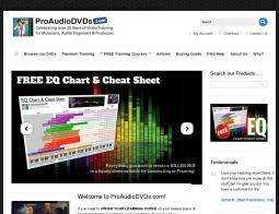 Pro Audio DVDs
