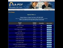 A-PDF Promo Codes