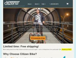 Citizen Bike Coupon Codes 2018