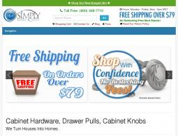 Simply Knobs and Pulls Coupon