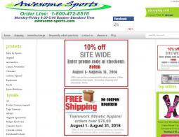 Awesome Sports Promo Codes