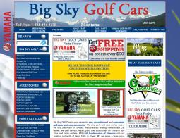 Big Sky Golf Cars Promo Codes 2018