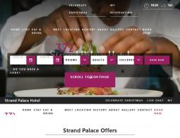Strand Palace Hotel Discount Code