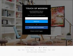 TouchOfModern Coupon 2018