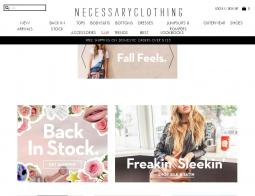 Necessary Clothing Promo Codes 2018