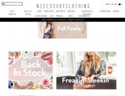 Necessary Clothing Promo Codes