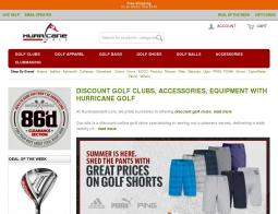 Hurricane Golf Promo Codes 2018