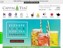 Capital Teas Coupon 2018