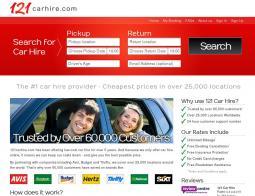 121 Car Hire Voucher Code