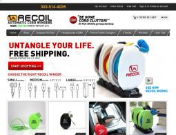 Recoil Automatic Cord Winders Promo Codes