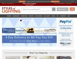Styles Of Lighting Coupon Codes