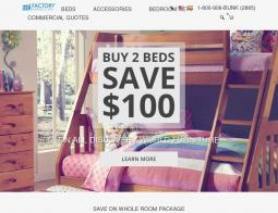 Factory Bunk Beds Coupon Codes
