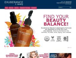 EXUBERANCE Coupon Codes 2018