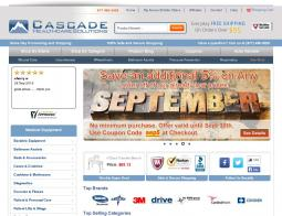 Cascade Health Care Solutions Coupon Codes 2018