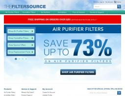 THE FILTER SOURCE Coupon Codes