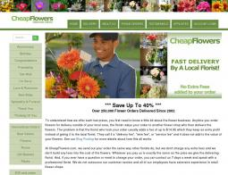 Cheap Flowers Promo Codes