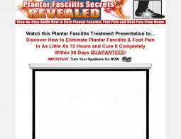Plantar Fasciitis Secrets Revealed Promo Codes