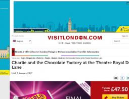 Charlie And The Chocolate Factory Promo Codes 2018