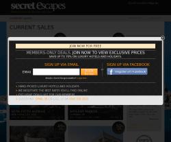 Secret Escapes Promo Code